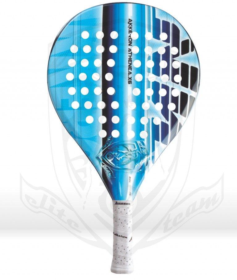 Pala Akkeron Athenea azul X6