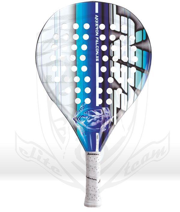 Pala Akkeron Falcon azul X6