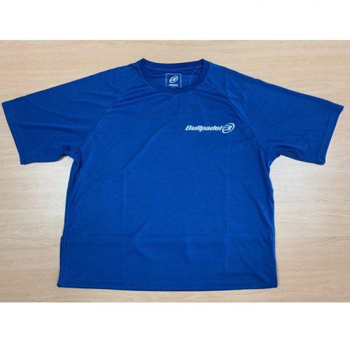 Camiseta Bullpadel Presente Azul