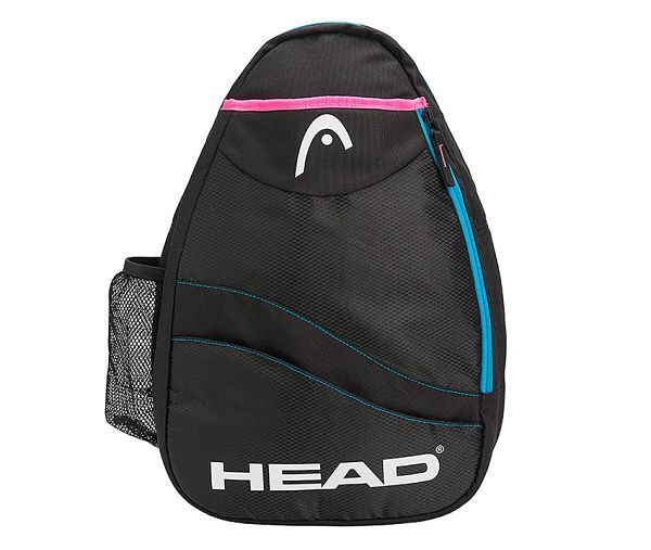 Mochila Head Sling Bag Negra/Azul/Rosa