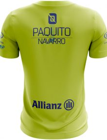 Camiseta Bullpadel Araguel Paquito Navarro Lima