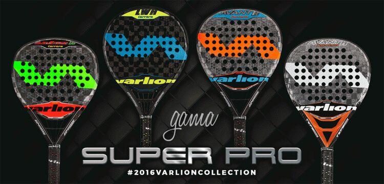 Palas de la gama Super Pro 2016 de Varlion