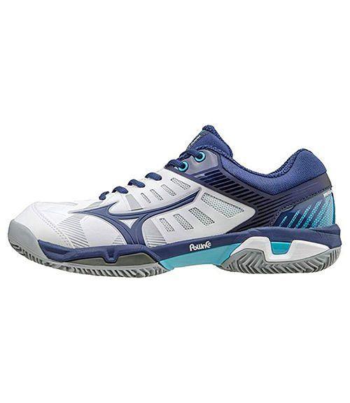 Zapatillas Mizuno Wave Exceed SL CC Azul-Blanco