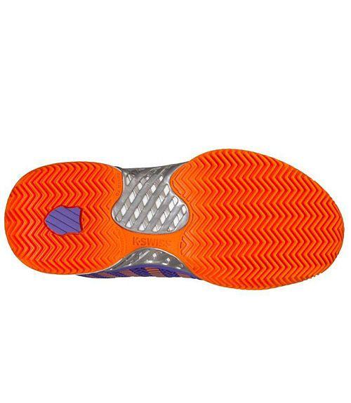K-Swiss Hypercourt Express Hb Naranja Mujer Zapatillas