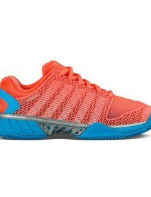 Zapatillas K-Swiss Hypercourt Express Hb Coral Mujer