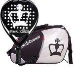 Pack Black Crown Pala Winner + Paletero Sun Plata-Negro