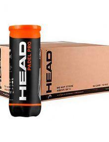 Cajón 24 botes de pelotas HEAD Padel Pro