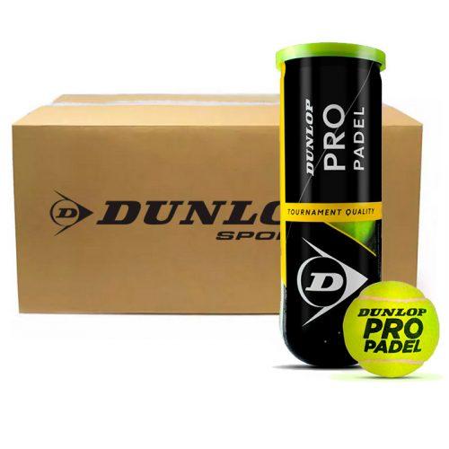 Cajón de pelotas Dunlop Pro Padel