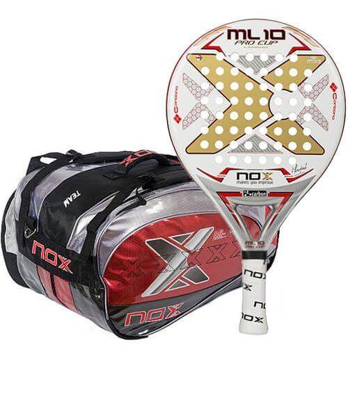 Pala ML10 Pro Cup + Paletero Nox