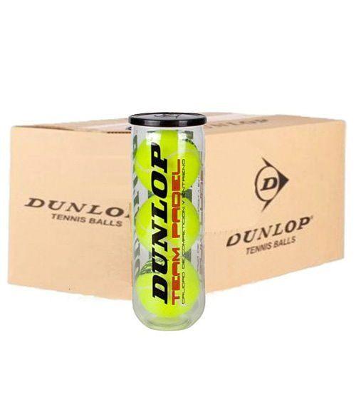 Cajón 24 Botes Pelotas Dunlop Team Padel
