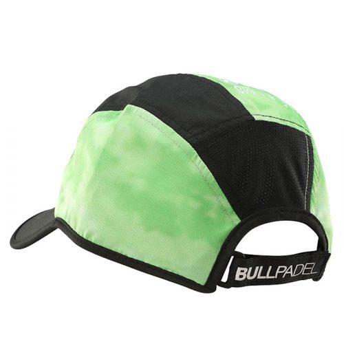 Gorra Bullapdel Verde Master Series atrás