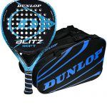 Pack Dunlop Pala Blitz Soft + Paletero Competition Azul