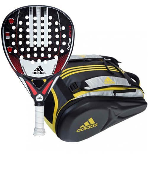 Pala Carbon Attack + Paletero Adipower Yellow Adidas
