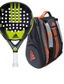 Pala Carbon Control + Paletero Adipower Orange Adidas