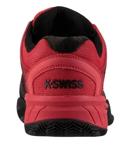 Hypercourt Express Roja-Negra Zapatillas K-Swiss