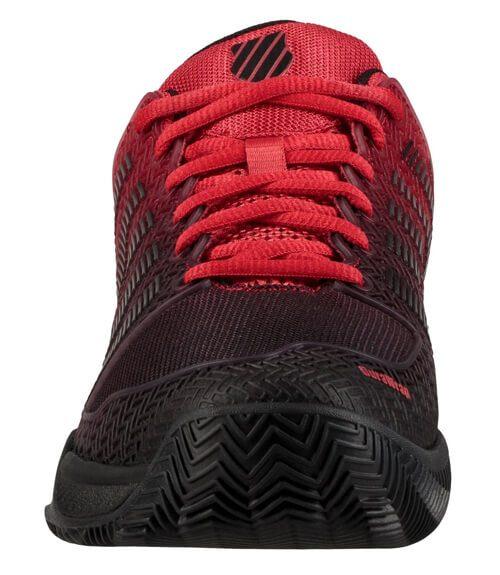 KSwiss Hypercourt Express Roja-Negra Zapatillas