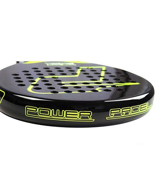 Power Padel Black Brillo Pala