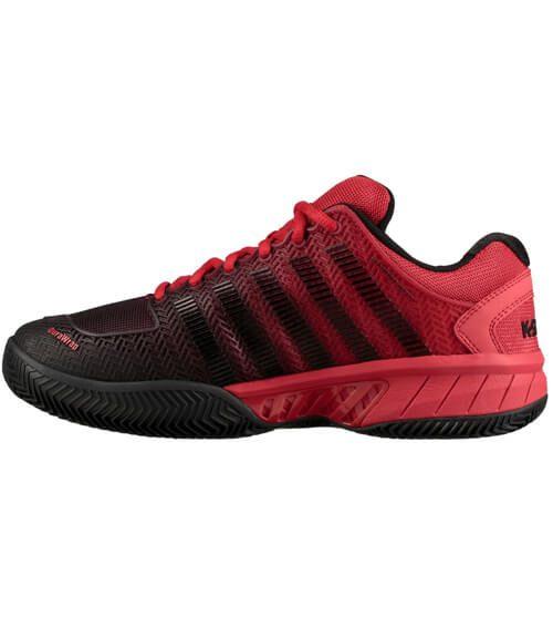 Zapatillas KSwiss Hypercourt Express Roja-Negra 19
