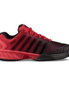 Zapatillas KSwiss Hypercourt Express Roja-Negra
