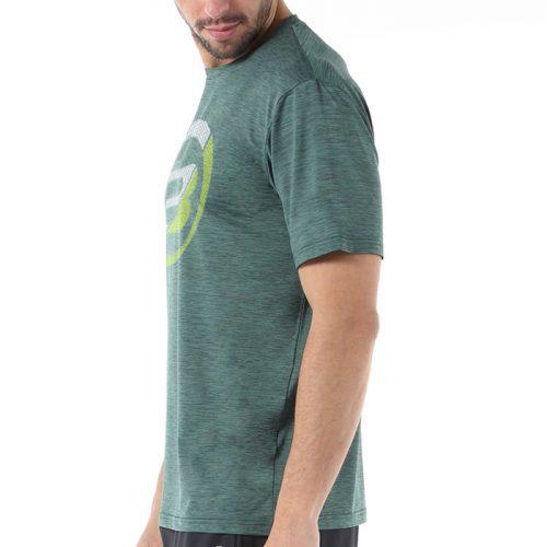 Camiseta Bullpadel Cogne Verde Bosque