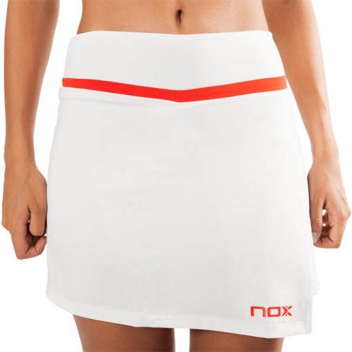 Falda Nox Team Blanca