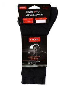 Nox Negro Calcetines