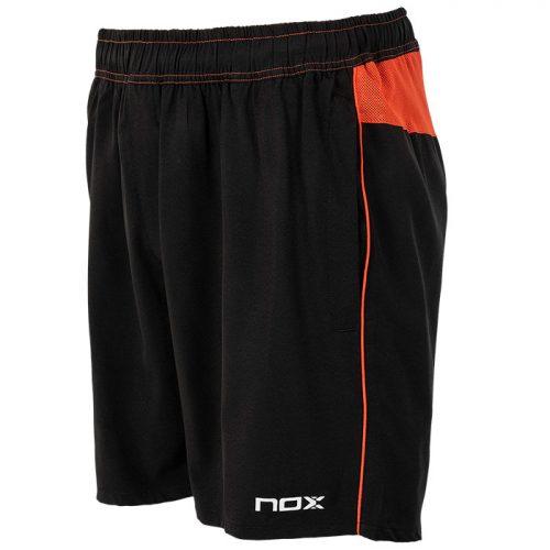 Short Nox Team Plomo-Rojo