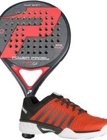 Pala Power Padel HR Soft + Zapatillas