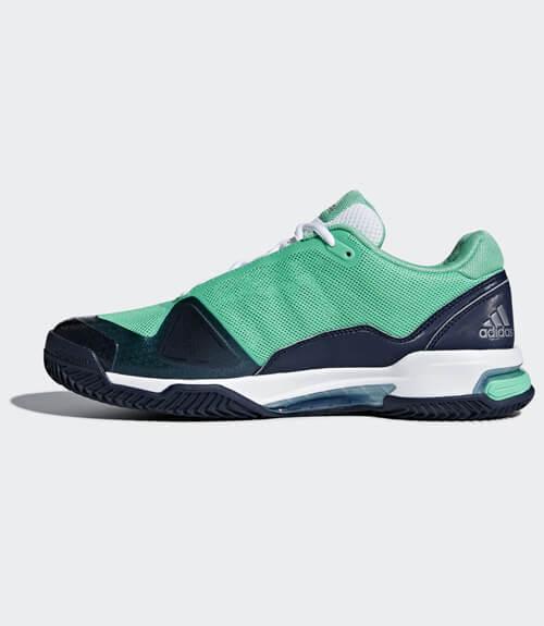 Zapatillas Adidas Barricade Club 2018 Verde