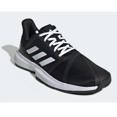 Adidas Courtjam Bounce Negras Zapatillas