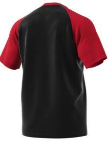 Camiseta Adidas Club Roja-Negra 2018