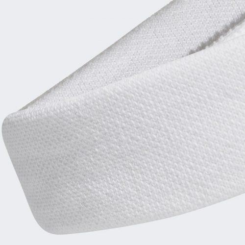 Cinta Cabeza Adidas Blanca Detalle