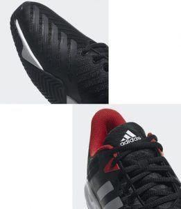 Detalle Adidas Barricade Court 3 Negra