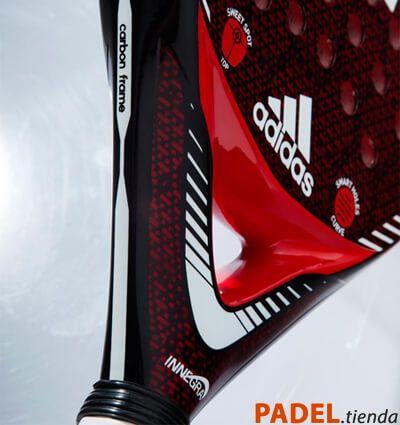 Detalle Pala Adidas Carbon Attk
