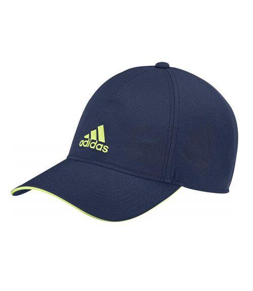 2d875421bda2c Gorra de pádel Adidas en color Azul - Logotipo de la marca en relieve