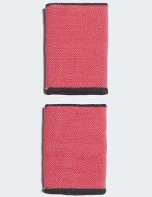 Muñequeras Adidas Pink-Black