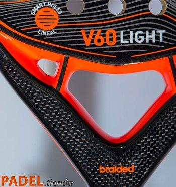 Pala Adidas V60 Light Detalle