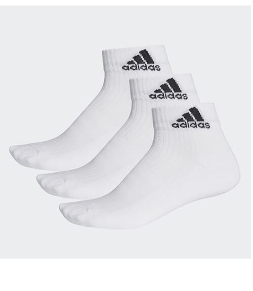 Calcetines Adidas Cortos Blancos