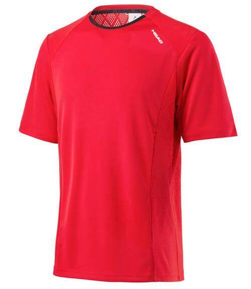 Camiseta Head Performance Roja