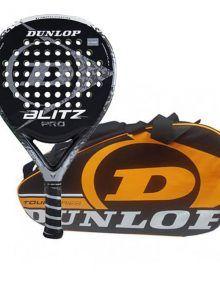 Dunlop Pala Blitz Pro + Paletero Tour Naranja