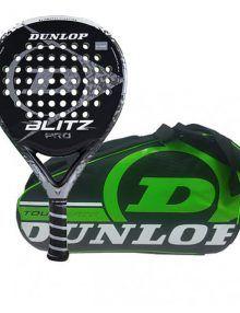Dunlop Pala Blitz Pro + Paletero Tour Verde