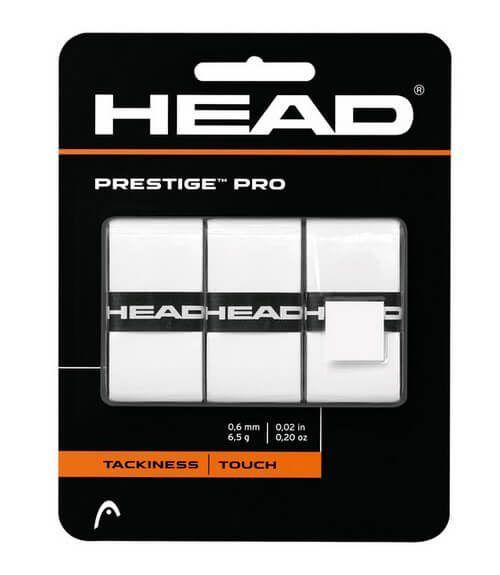 Pack 3 Overgrips Head Prestige Pro Blanco
