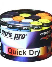 Tambor Overgrips Pro´s Pro Quick Dry Colores