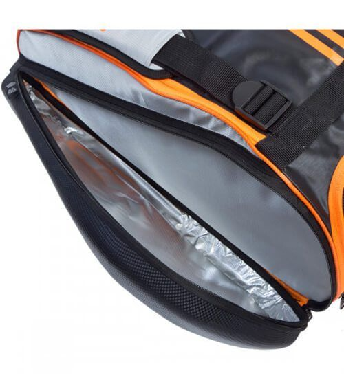 Detalle Paletero Adidas Adipower Naranja
