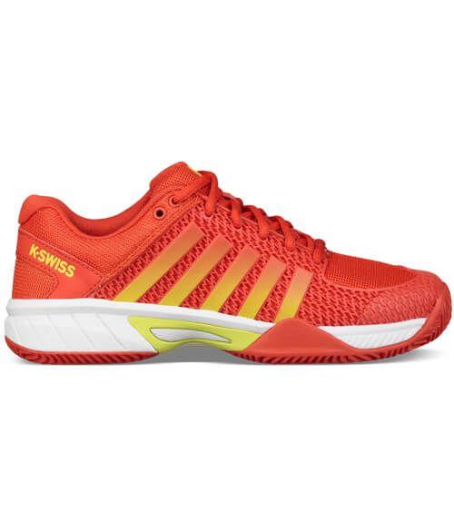 K-Swiss Zapatillas Express Light HB Mujer Roja-Amarilla