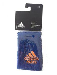 Muñequera Adidas Azul Grande