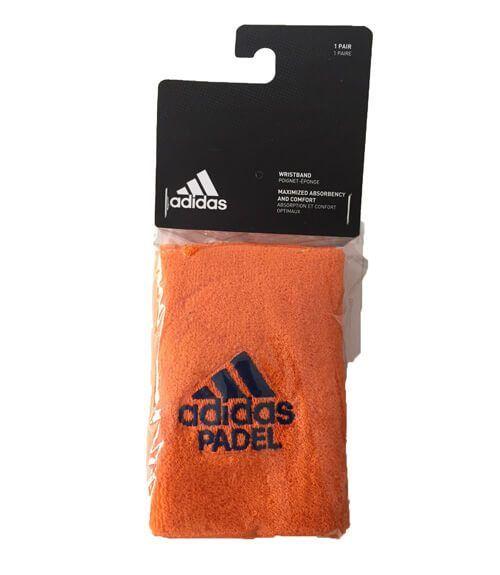 Muñequera Adidas Naranja Grande
