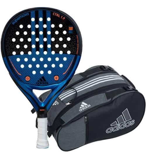 40290b4110329 Pack Adidas 2019 - Pala Supernova Control + Paletero Adidas