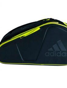 Paletero Adidas Pro Tour negro-verde lima