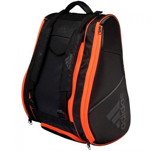 Paletero Adidas Pro Tour negro y naranja